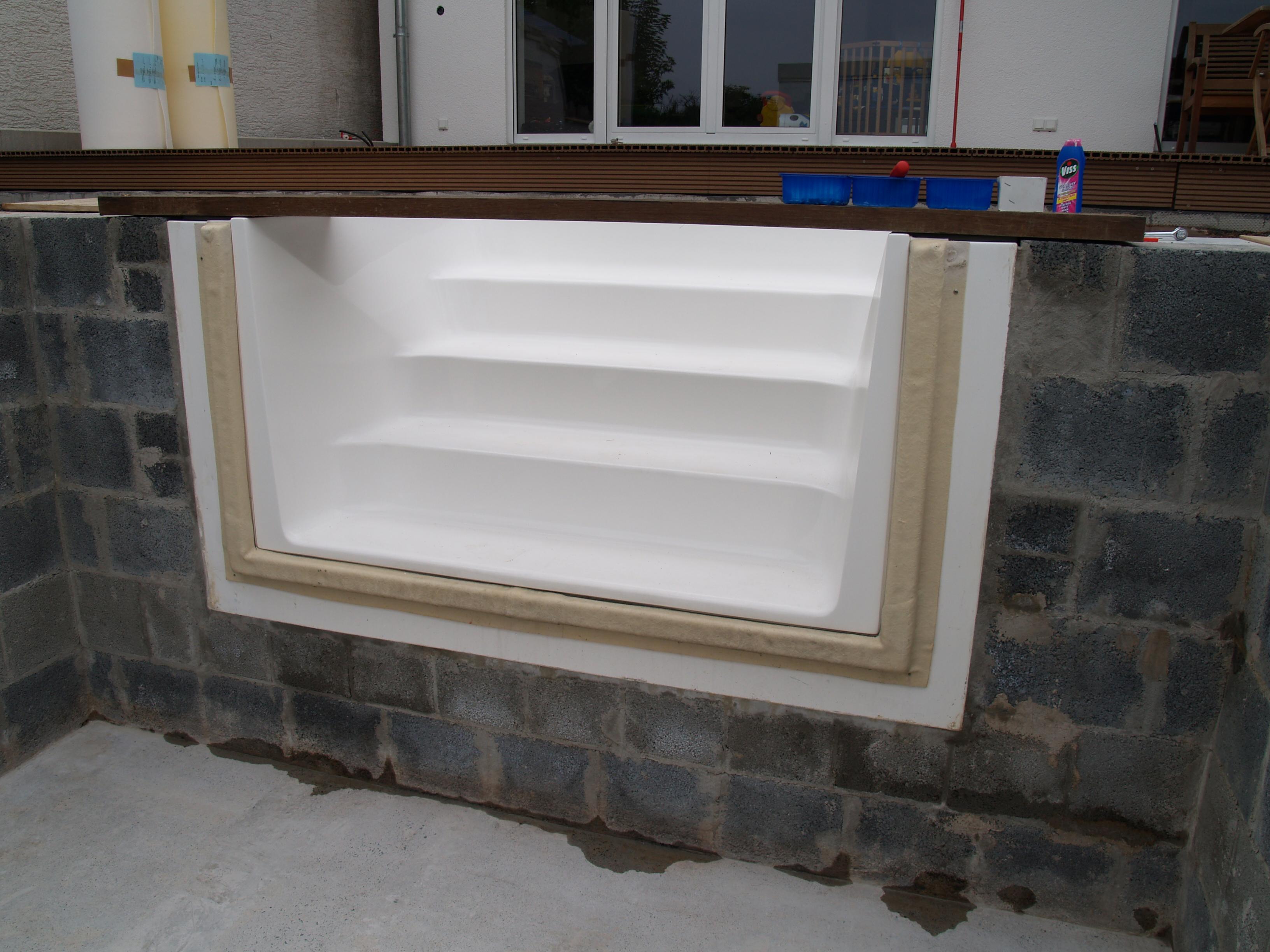 Einbau Treppe