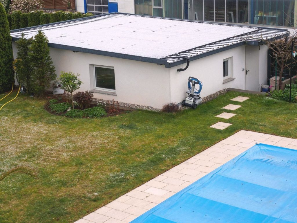 Solarkollektor Pool frostfest