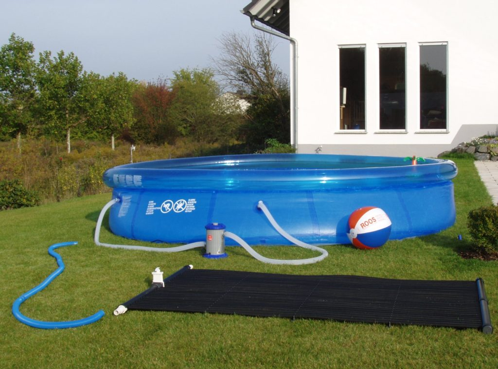 Solarmatte pool die pool heizung f r kleine pools for Pool staubsauger obi
